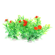 "4.25"" Plastic Plants Decorative Ornament for Aquarium Fish Tank (10 included)"