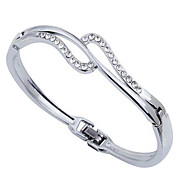 Silver Plated Alloy Bracelet