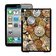 Coins Pattern 3D Effect Case for iPad mini 3, iPad mini 2, iPad mini