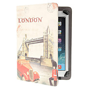 Retro Castle Pattern Adjustable Clamp Style PU Leather Case Universal for Samsung 9.0&10.0 Inches Tablets
