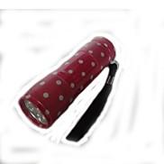 Packet 9 Lamp LED 1 Mode Flashlight Camping Lamp (80 LM 3XAAA Pink)