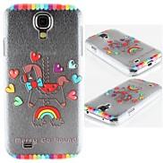 Rainbow Merry-Go-Round PC Hard Case for Samsung S4 I9500