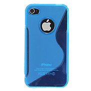 Quality Silicone Skin Case Cover for iPhone 4/4S(Assorted Color)