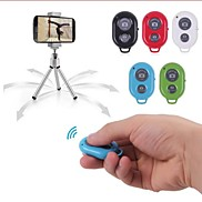 Bluetooth Remote Control Self Timer Camera Shutter for iPhone/iPad and Android Phone(Assorted Color)