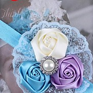 Children's New Occident Lace Rose Headbands for Kids(Random Color)