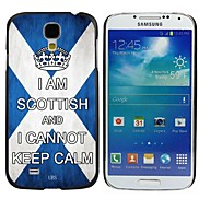 Milocos ™ Scottish National Flag Can Not Keep Calm Hard Case for Samsung Galaxy S4 i9500