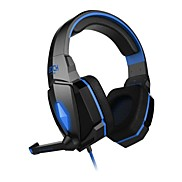 EACH G4000 Headphone 3.5mm Over Ear Gaming Volume Control with Microphone Stereo For PC