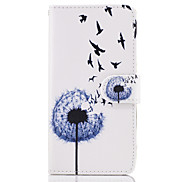 Case For LG G6 G5 Case Cover The Dandelion Pattern PU Leather Cases for LG G3