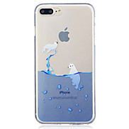 For Apple iPhone 7 7 Plus 6S 6 Plus SE 5S 5 Seal Pattern Painted High Penetration TPU Material IMD Process Soft Case Phone Case