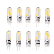 shenmeile 2W LED Filament Bulb G4 Bi-pin Lights T 2 COB 200 lm Warm White Cool White AC/DC 12 V 10 pcs