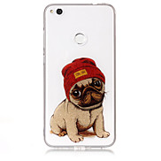 Case For Huawei P8 Lite (2017) P10 Lite Phone Case TPU Material IMD Process Dog Pattern HD Flash Powder Phone Case P9 Lite P8 Lite