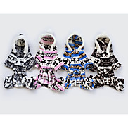 Dog Costume Dog Clothes Cosplay Stripe