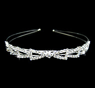 Gorgeous Alloy With Clear Crystal Wedding Headpiece/ Bridal Headband