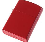 Charming Red Steel Oil Lighter