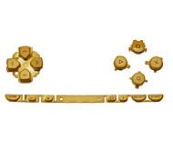 reemplazo de kit de botón para psp (oro)