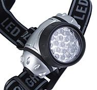 4-mode faro de plástico con 19-LED (3xAAA)
