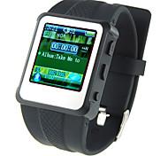 De 1,5 pulgadas LCD Reloj MP4