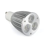 GU10 6 W 3 High Power LED 520 LM Warm White / Cool White / Natural White LED Spotlight AC 85-265 V