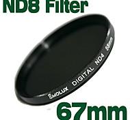 Emolux Neutral Density 67mm ND8 Filter