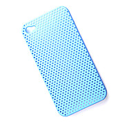 Protective Mesh Case for iPhone 4 (Blue)