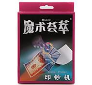 apoyos truco de magia kitmagic magia reunir el dinero de la impresora