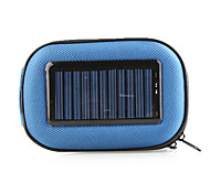 EVA Jacket with Solar Charging Equipment for Mobile Phone, Digital Camera, PDA, MP3, MP4(Blue)