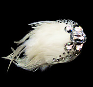 Women's Feather Headpiece - Wedding/Special Occasion/Casual/Office & Career Flowers