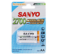Sanyo 2700mAh Ni-MH recargables AA (2-pack)