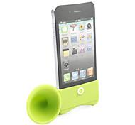 support haut-parleur se corne pour iPhone 4 (vert)