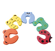 Cartoon Child Safety Door Stop (5-Pack)