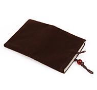 celular de moda bolsa de terciopelo para el iPhone (darkr marrón)