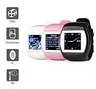 MQ007 Стильные часы-мобильный телефон с 1.5-дюймовым экраном, Bluetooth, FM