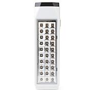 7w 38 led blanc 2 modes d'éclairage d'urgence lampe rechargeable (220V)