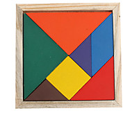 Pattern Making Wooden Tangram IQ Puzzle