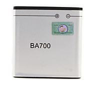 3.7V 1500mAh Li-ion Battery BA700 For Sony Errison