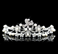 Women's Alloy/Imitation Pearl Headpiece - Wedding/Special Occasion Tiaras