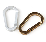 6mm - Shaped Aluminum Carabiner (Random Color)
