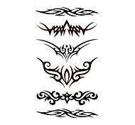5 Stück wasserdicht temporäres Tattoo (17,5 cm * 10cm)