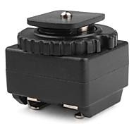 c-n2 flash quente sapato adaptador de sincronização pc para canon nikon d-slr como sc-2