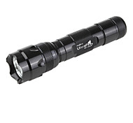 UltraFire WF-502B 5-Modalità CREE XR-E Q5 LED (230lm, 1x18650, nero)