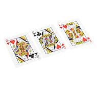 Los accesorios de la narración truco de magia del rey del póker
