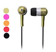 Mushroom Style In-Ear Stereo Earphones (Assorted Colors)