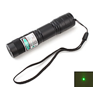 drinkbaar groene laser pointer met batterij (5 MW, 532nm, zwart)