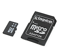 Kingston 32GB Class 6 MicroSDHC TF Memory Card with MicroSD to SDHC SD Adapter