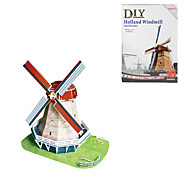 Holland Windmill 3D DIY Puzzle