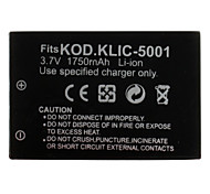Digital Camera Battery for Kodak KODAK Easyshare DX6490 (3.7V, 1750mAh)
