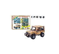 Military Jeep 3D DIY Puzzle