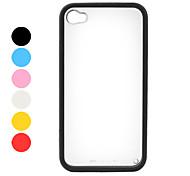Uniek iPhone 4/4S Achterkanthoesje Met Kleurrijke Bumper
