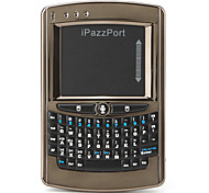 iPazzPort Mini Wireless Keyboard with Voice Control (Brown)