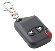 duas chaves 315MHZ / 433MHz wireless controle remoto quadrado vermelho levou código fixo